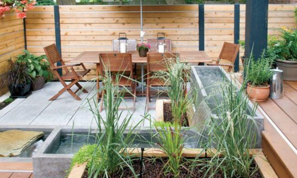 Aménager son jardin en différents espaces