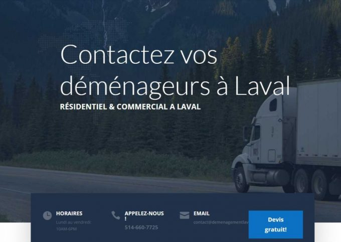 Déménagement Laval