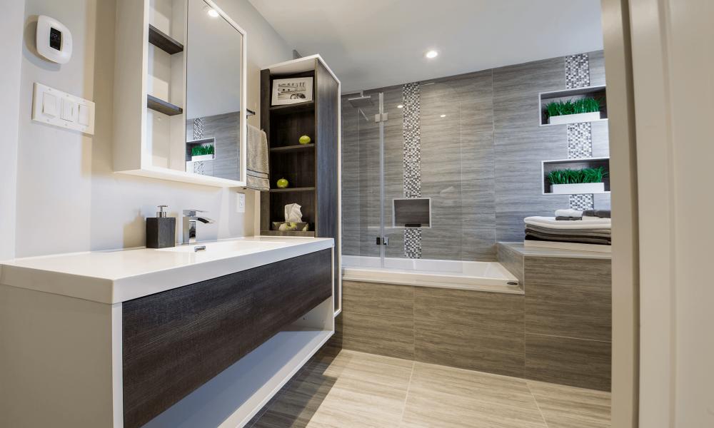 Différents styles pour rénover sa salle de bain
